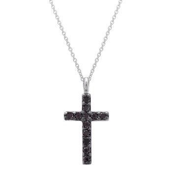 Cross 18ct White Gold with