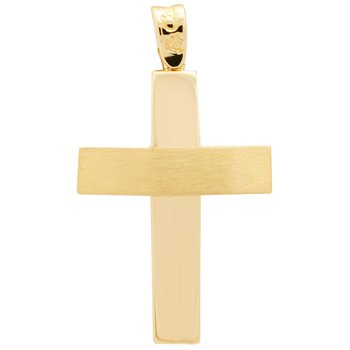 Cross 14ct Gold FaCaDoro