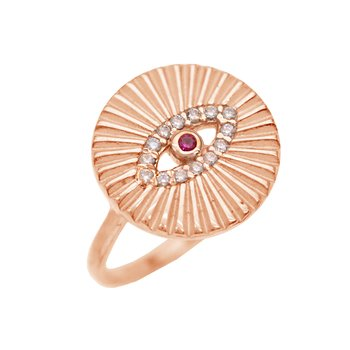 Ring KIKI 925 Rose Gold