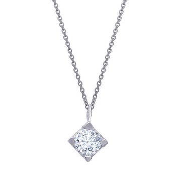 Necklace 14ct white gold