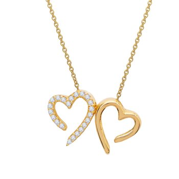 Necklace with heart 14ct gold