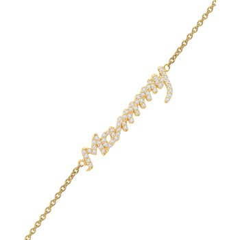 Bracelet Mammy 14ct gold with