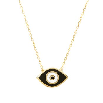 Necklace evil eye 9ct gold