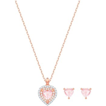 SWAROVSKI Pink Heart One Set