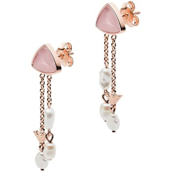 Silver Earrings by Emporio