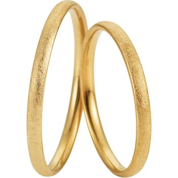 Wedding rings in 8ct Gold