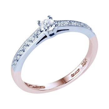 Ring 18ct  White Gold and