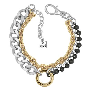 DKNY Mixed Metal Multi Chain
