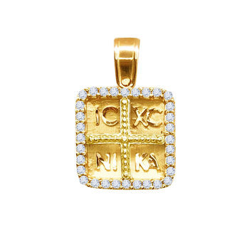 SAVVIDIS 9ct Gold Charm with