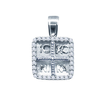 SAVVIDIS 9ct White Gold Charm