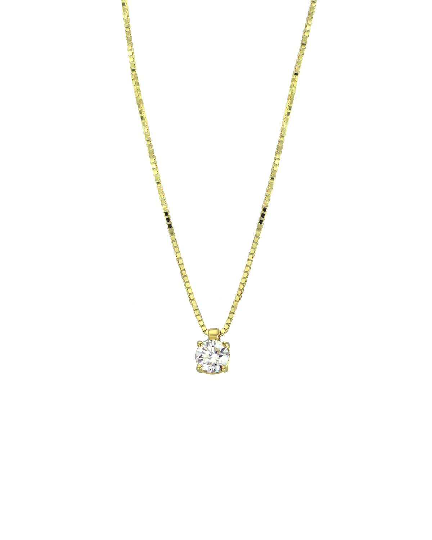 Κολιέ 18Κ Χρυσό με Διαμάντια - kosmima.gr 2371db1a155