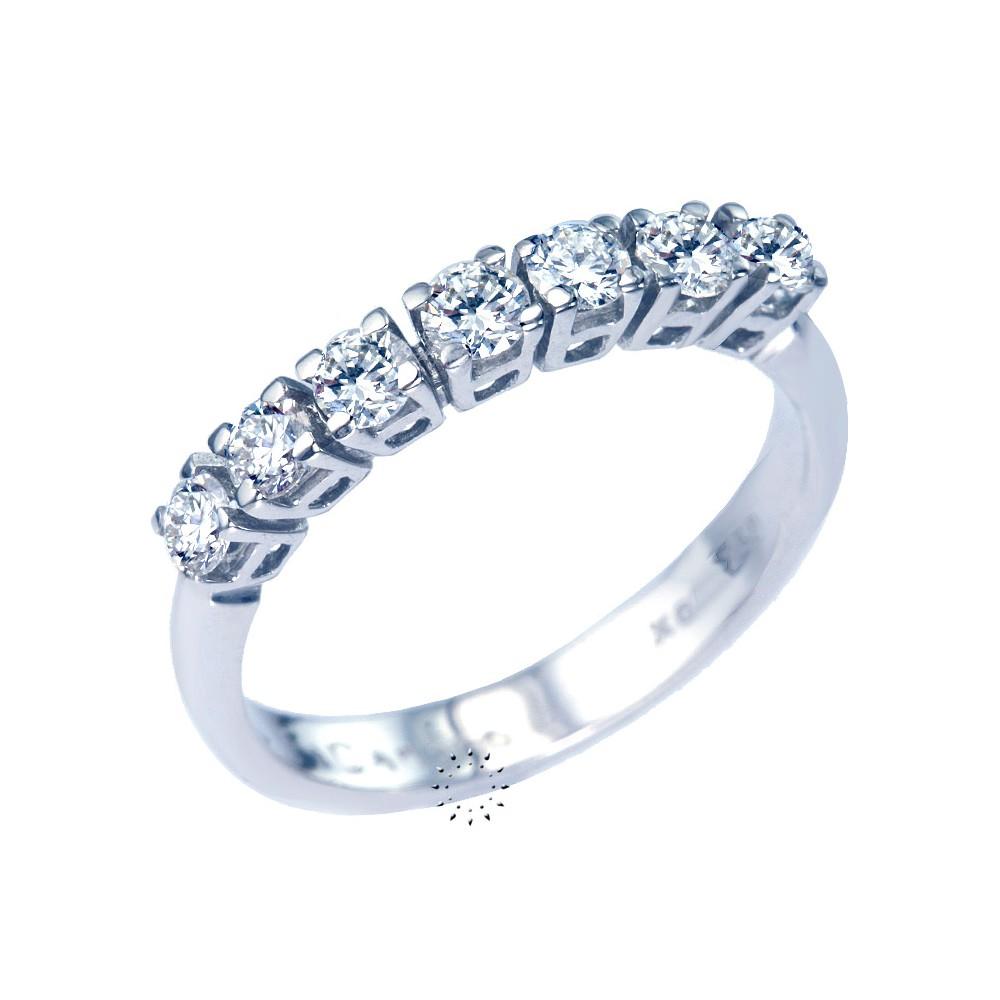 Δαχτυλίδι Σειρέ 18Κ Λευκόχρυσο με Διαμάντια - kosmima.gr 11facc1d840