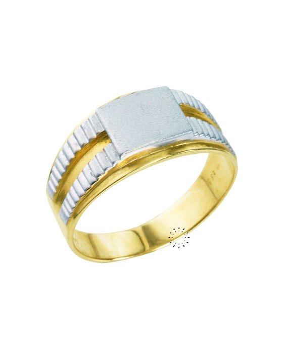 Δαχτυλίδι Ανδρικό 18Κ Λευκόχρυσο με Διαμάντι - kosmima.gr 89f8f567e74