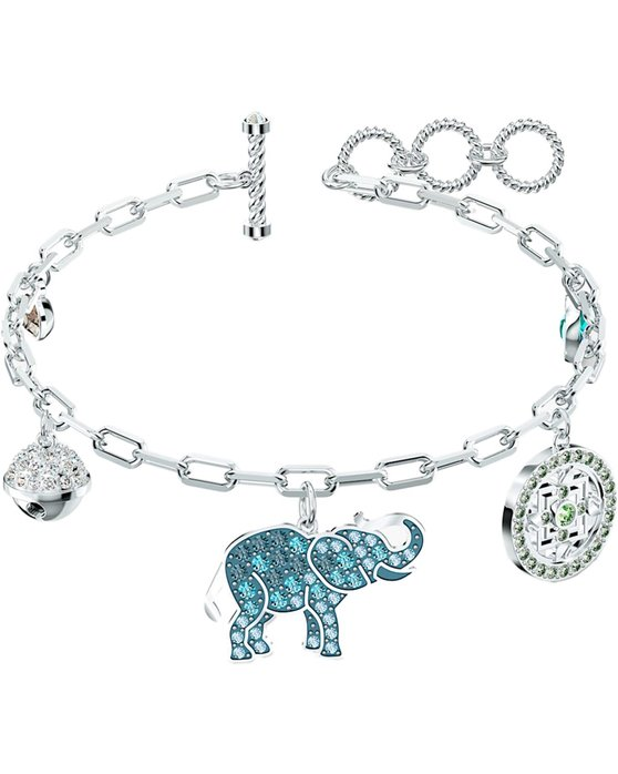 SWAROVSKI Light multi-colored Symbolic Elephant Bracelet